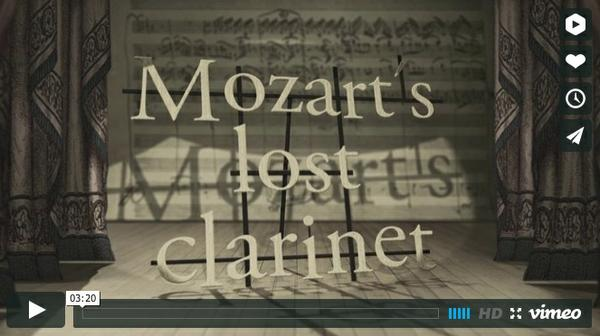 Image of video documentary: Mozart's Lost Clarinet