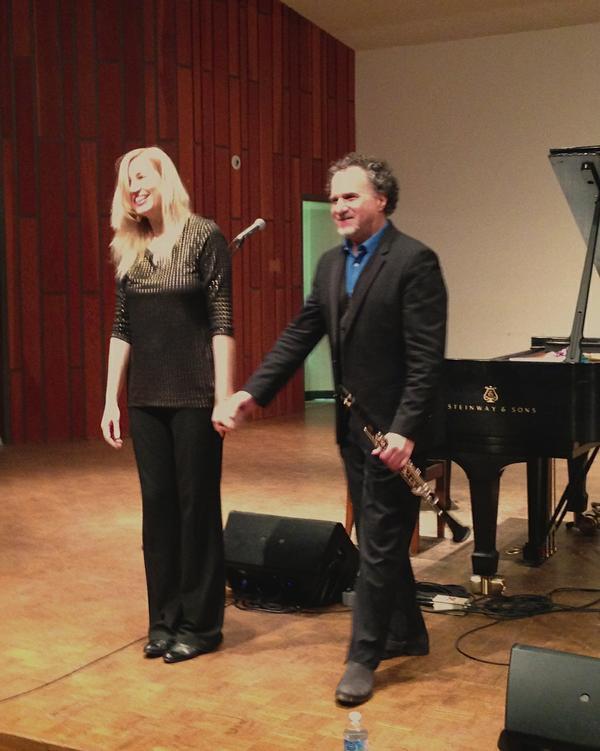 Clarinetist David Krakauer and Pianist Kathleen Tagg