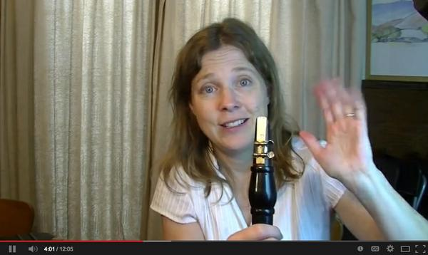 Link to You Tube Video clarinet exercises without your clarinet Part 2