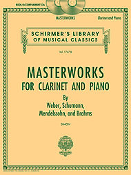 photo of Masterworks for Clarinet and Piano -ed. Simon