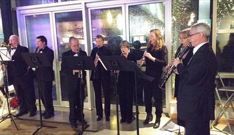 PSWE Clarinetists perform some seasonal music Dec. 12/15
