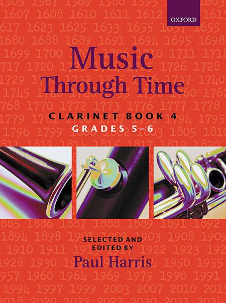 Image of Music Through Time clarinet books