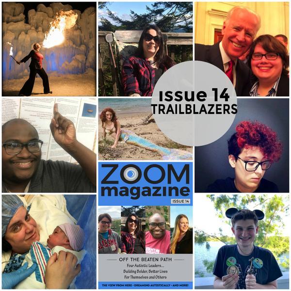Zoom Autism Magazine Neurodiverse community