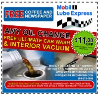 Top rated oil change car wash service in richmond automotive free car wash mobil1richmond11offcustomg solutioingenieria Image collections
