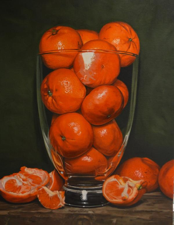 Satsumas in Glass