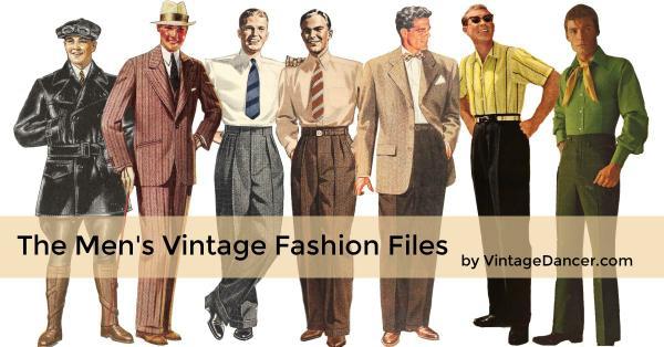 The Mens Vintage Fashion Files by VintageDancer email list header.jpg