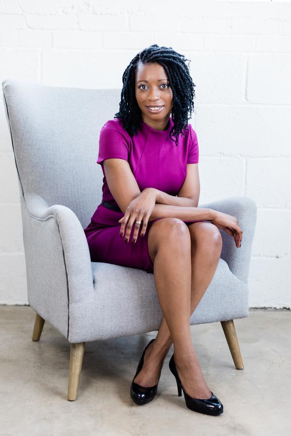 Writer sitting on chair