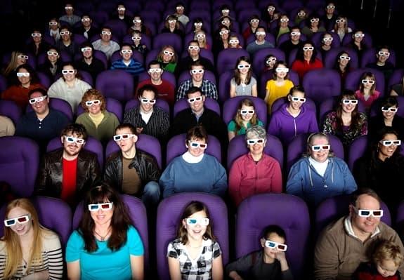 Purple seats & 3D