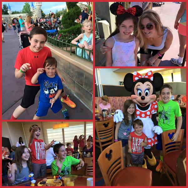 Gina's Disney trip