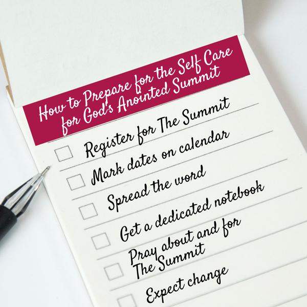 Summit Checklist