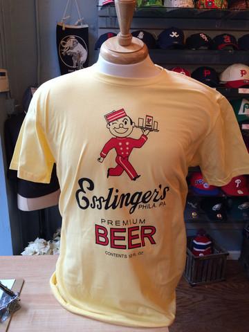 Esslingers Beer tri-blend shirt