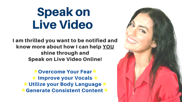Learn to Speak On Live Video