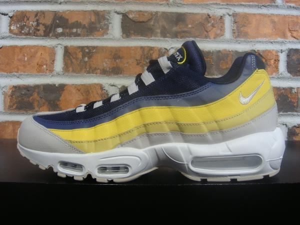 Nike Air Max 95 Essential White Lemon Wash Tour Yellow