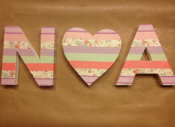 Ideas diy para decorar habitaciones infantiles - Manualidades decoracion infantil ...