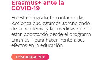 Erasmus+ ante la COVID-19