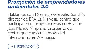 Promoción de Emprendedores ambientales 2.0