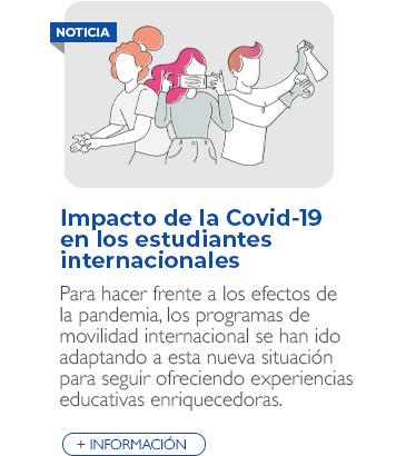 Impacto de la COVID-19 en los estudiantes internacionales