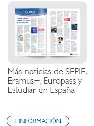 Más noticias de SEPIE, Eramus+, Europass y Estudiar en España