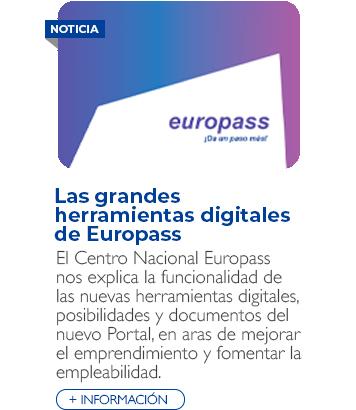 Las grandes herramientas digitales de Europass