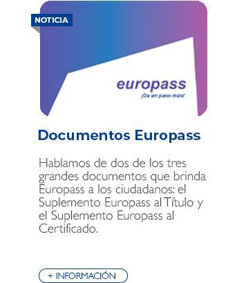 Documentos Europass