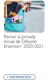 Jornada Anual de Difusión Erasmus+ 2020-2021