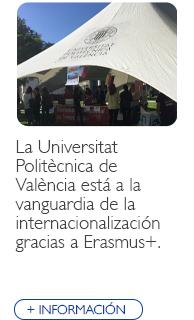 La Universidad Politécnica de Valencia a la vanguardia