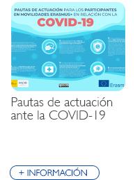 Pautas de actuación ante la COVID-19