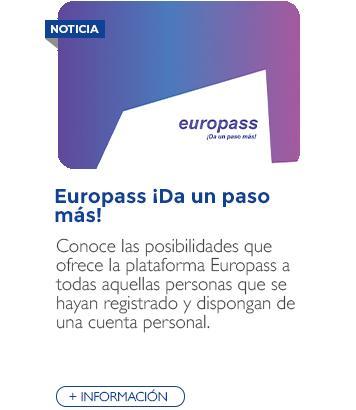 Europass ¡Da un paso más!