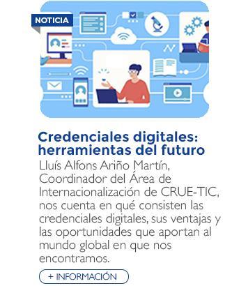 Credenciales digitales: herramientas del futuro