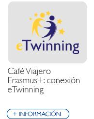 Café Viajero Erasmus+ conexión eTwinning
