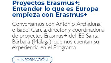 Proyectos Erasmus+: Entender lo que es Europa empieza con Erasmus+