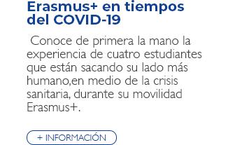 Erasmus+ en tiempos del COVID-19