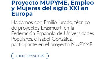 Proyecto Erasmus+ MUPYME