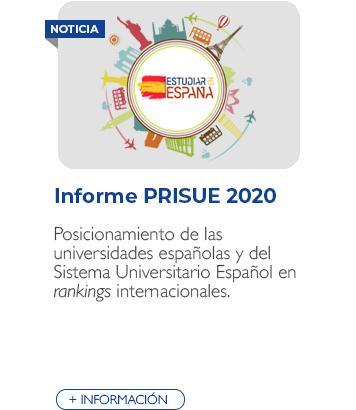 Informe PRISUE 2020