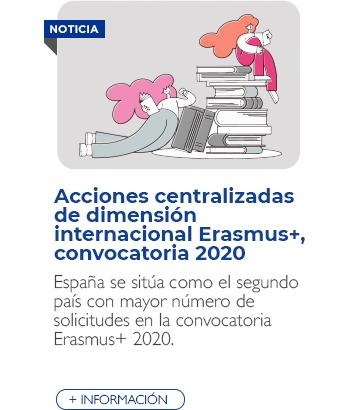 Convocatoria Erasmus+ 2020