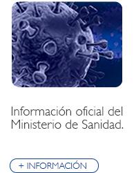 Información oficial del Ministerio de Sanidad