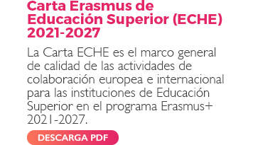Carta Erasmus de Educación Superior (ECHE) 2021-2027