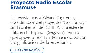 Proyecto Radio Escolar Erasmus+