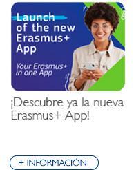 ¡Descubre ya la nueva Erasmus+ App!