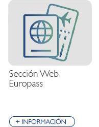 Sección Web Europass