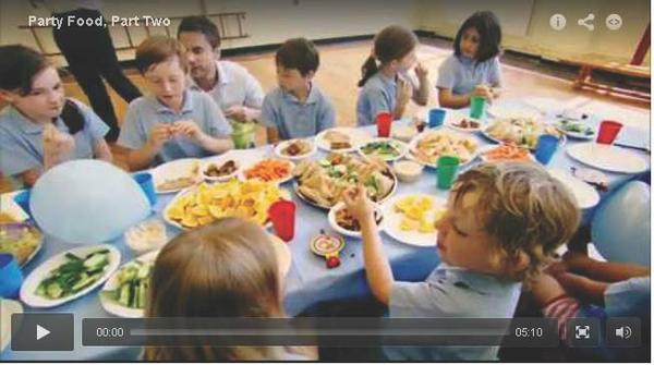 schoolkinderen en voeding