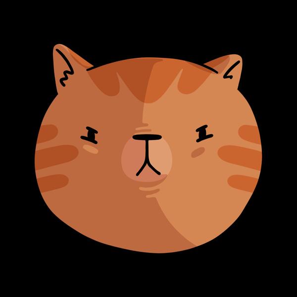 A scrappy little strawberry blonde cat