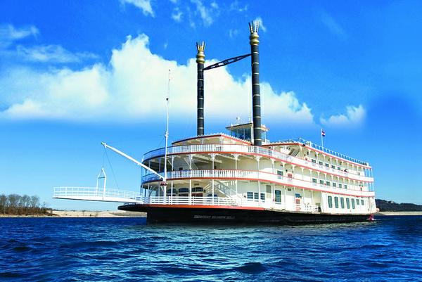 Did You Know How Showboat Branson Belle was launched from land to water