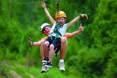 Tandem_Ziplining_for_kids_in_Branson_MO