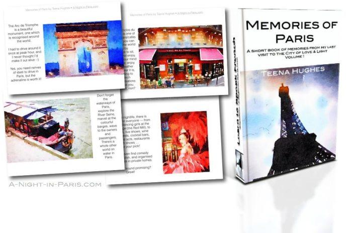 Teena's Kindle book, MEMORIES OF PARIS