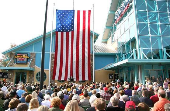 Veterans Day Celebration at Ripley's Aquarium of the Smokies
