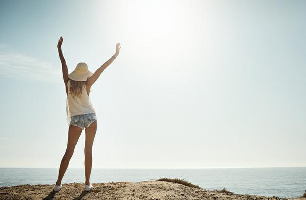 Positive Lady Image