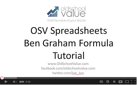 play Graham Formula Valuationvideo