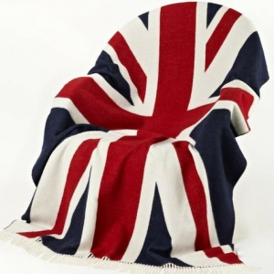 bronte throw union jack