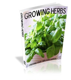 Growing Herbs E-Book